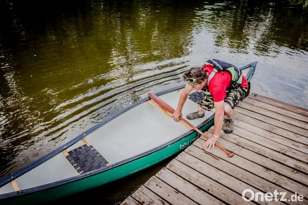 Kanulehrer Klaus Frieser - Hou Canoe 14